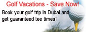 Dubai Golf Clubs